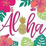 Aloha   Lunchservetter 33 cm   Flerfärgad   16 ct