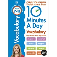 10 Minutes A Day Vocabulary, Ages 7-11 (Key Stage 2): Supports the National Curriculum, Helps Develop Strong English…