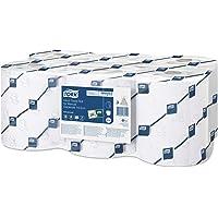 Tork Hand towel roll for electr. disp.2-ply, white, 19.3 cm, 6 rolls/pack