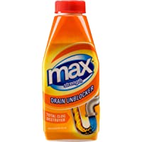 Max Strength Drain Unblocker 500ml, 6 Pack