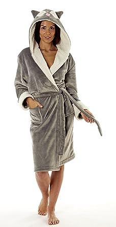 Robe de chambre douce femme