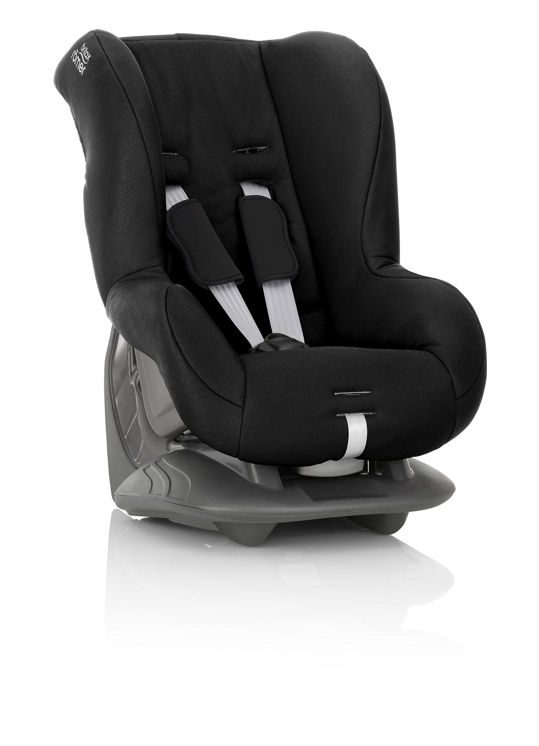 Britax Römer ECLIPSE Group 1 (9-18kg) Car Seat - Cosmos Black Britax Simple installation with a 3-point or 2-point seat belt Superior protection - side impact protection, performance chest pads and pitch control system TUV certified for aircraft travel 4