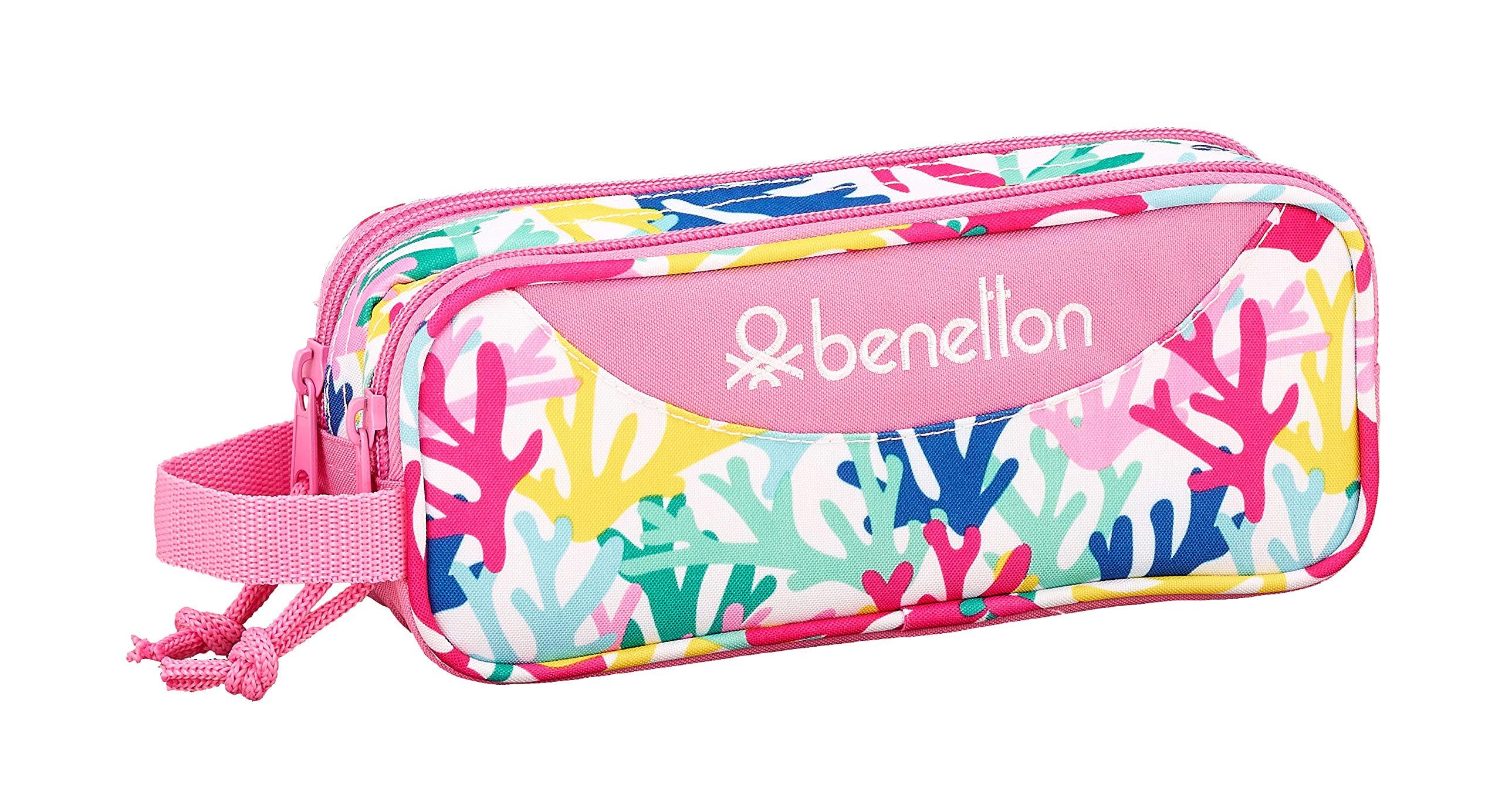 Benetton «Coralli» Oficial Estuche Escolar 210x60x80mm