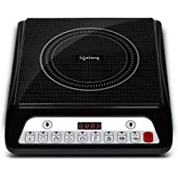 Lifelong Inferno LLIC30 2000 Watt Induction Cooktop for Home with 7 Preset Indian Menu Option and Auto-Shut Off   Easy…