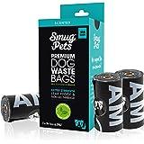 SmugPets - 315 sachets à déjections Canines - parfumés - très Grande Taille