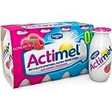 Actimel 0% Raspberry Yogurt Drink 8x100g