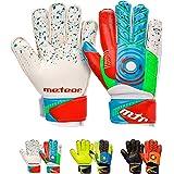 meteor Guantes Portero Goalkeeper Gloves Entrenamiento Futbol Equipacion fútbol niños - protección para los Dedos - Defence