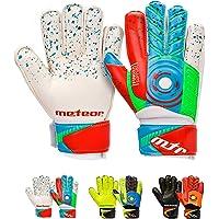 Goalie Gloves for Kids Goalkeeper Gloves Football Goalkeeping Gloves Boys Youth Adult Junior Children Strong Keeper Grip…