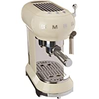 Smeg 146872 Machine à café Expresso ECF01CREU, crème