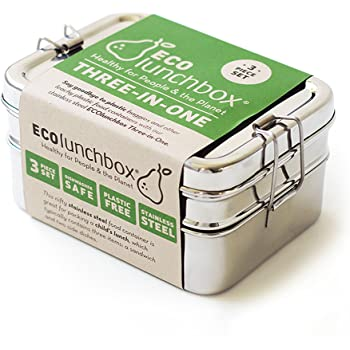 ECOlunchbox Brotdose Three in One