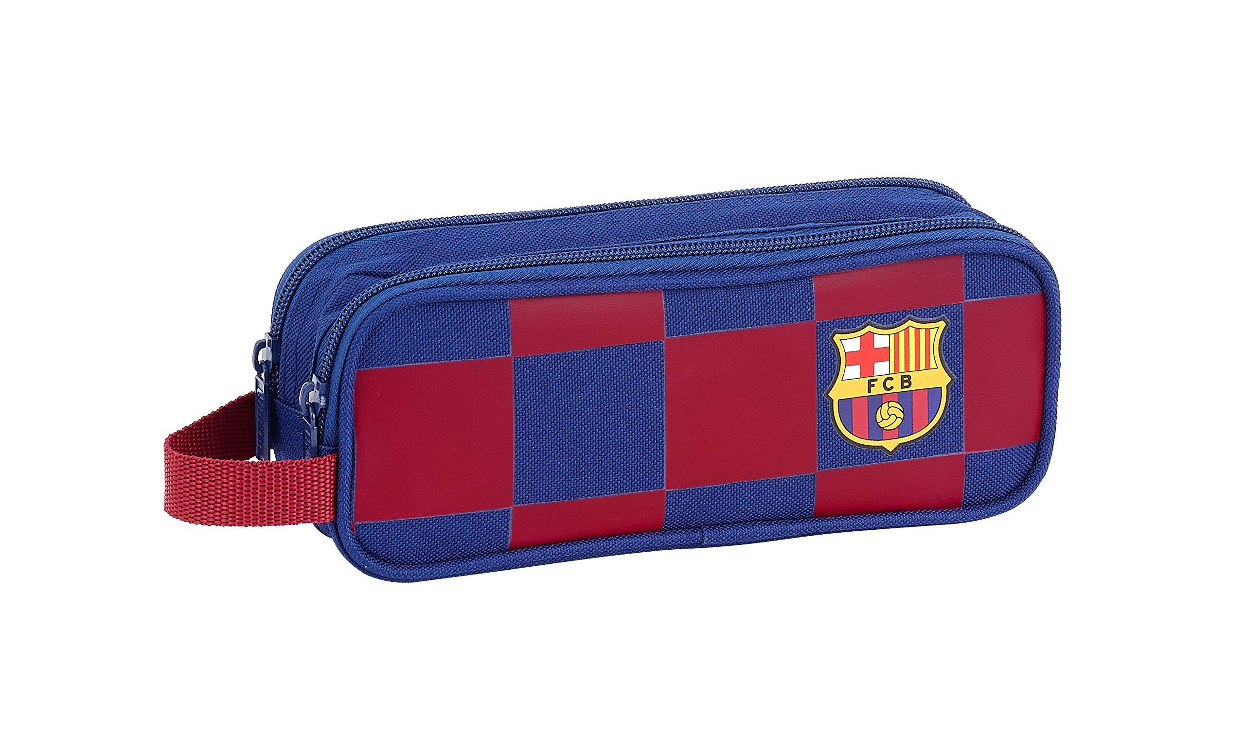 FC Barcelona Estuche portatodo Triple Escolar