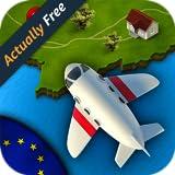 GeoVuelo Europa HD: aprender Geografía Europa divertida y educativa