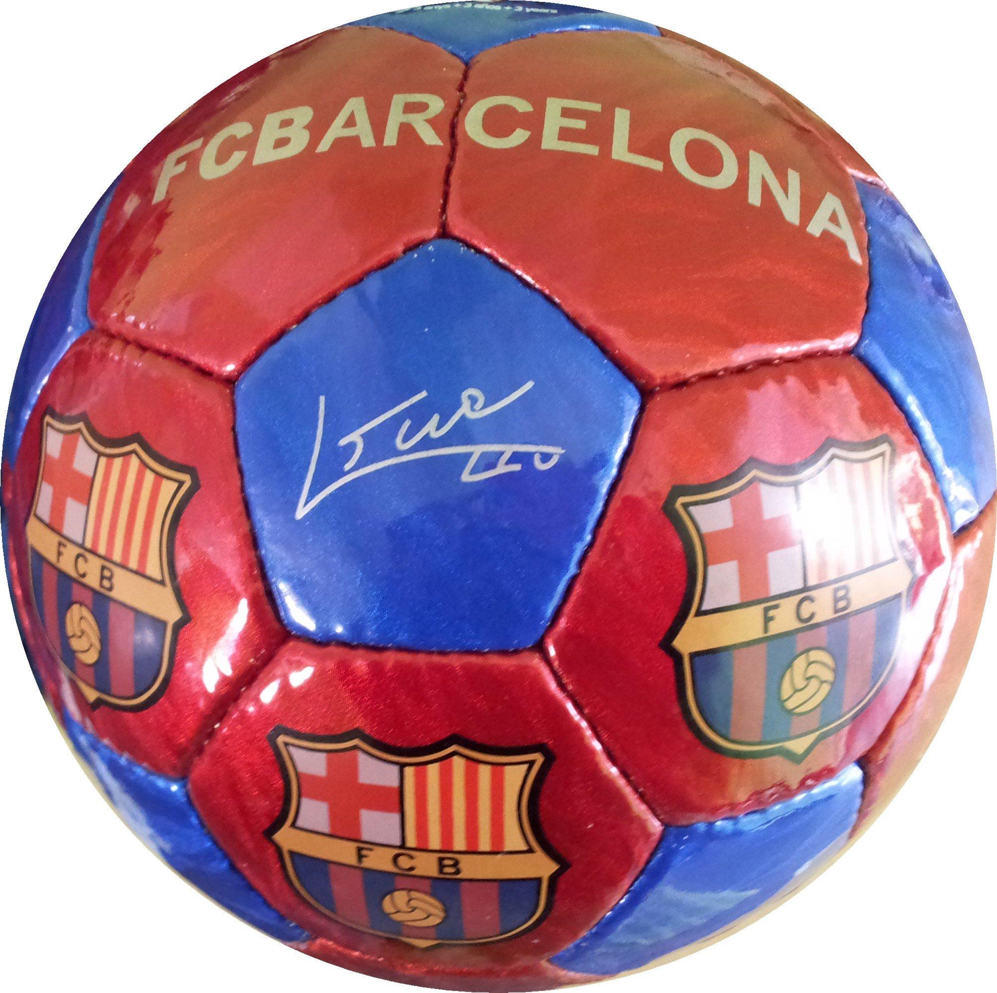 Fc Barcelona Pallone Da Calcio Taglia 5 - Rosso / Blu