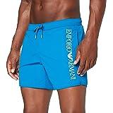 Emporio Armani Swimwear Boxer Embroidery Logo Costume da Bagno Uomo