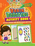 Brain Boosting Activity Book: Match the Pair, Find the Difference, Maze, Crossword, Dot-to-Dot  (5+ Yrs)