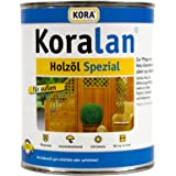 Koralan Holzöl Spezial Öl UV-Schutz Außenöl Natur 0,75L