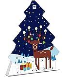 Ritter Sport Schokowürfel Adventskalender (208 g), Weihnachtskalender zum Aufhängen, 26 Schokoladen-Würfel, 7 leckere…