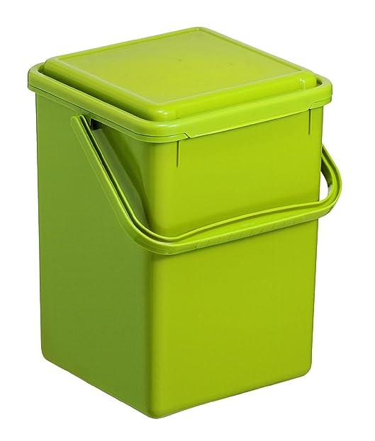 Rotho 1775505519 Komposteimer Bio, Abfallbehälter für die Küche ...
