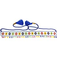 J.B.COLLECTION Womens Traditional Hand Made Multicolor Beads Kamarband for Women