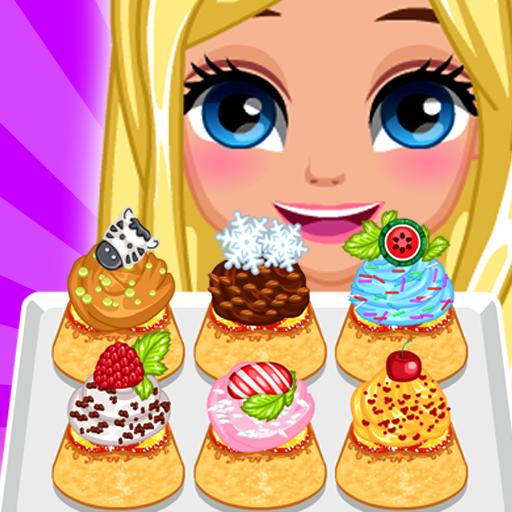 Peach Upside Down Cupcakes