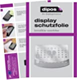 dipos I 3X Schutzfolie klar passend für DeLonghi Magnifica S ECAM 22.110 + 21.117 + 21.116 Folie Displayschutzfolie