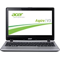 Acer Aspire V3-111P-P06A 29,5 cm (11,6 Zoll) Laptop (Intel Celeron N3530, 2,1GHz, 4GBRAM, 500GB HDD, Intel HD Graphics, Win 8,1, Touchscreen) silber