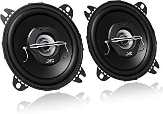 JVC CS-J420X Koaxial Lautsprecher (10 cm, 2-Wege) schwarz