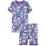 Hatley Organic Cotton Short Sleeve Appliqué Pyjama Sets Conjuntos de Pijama para Niñas
