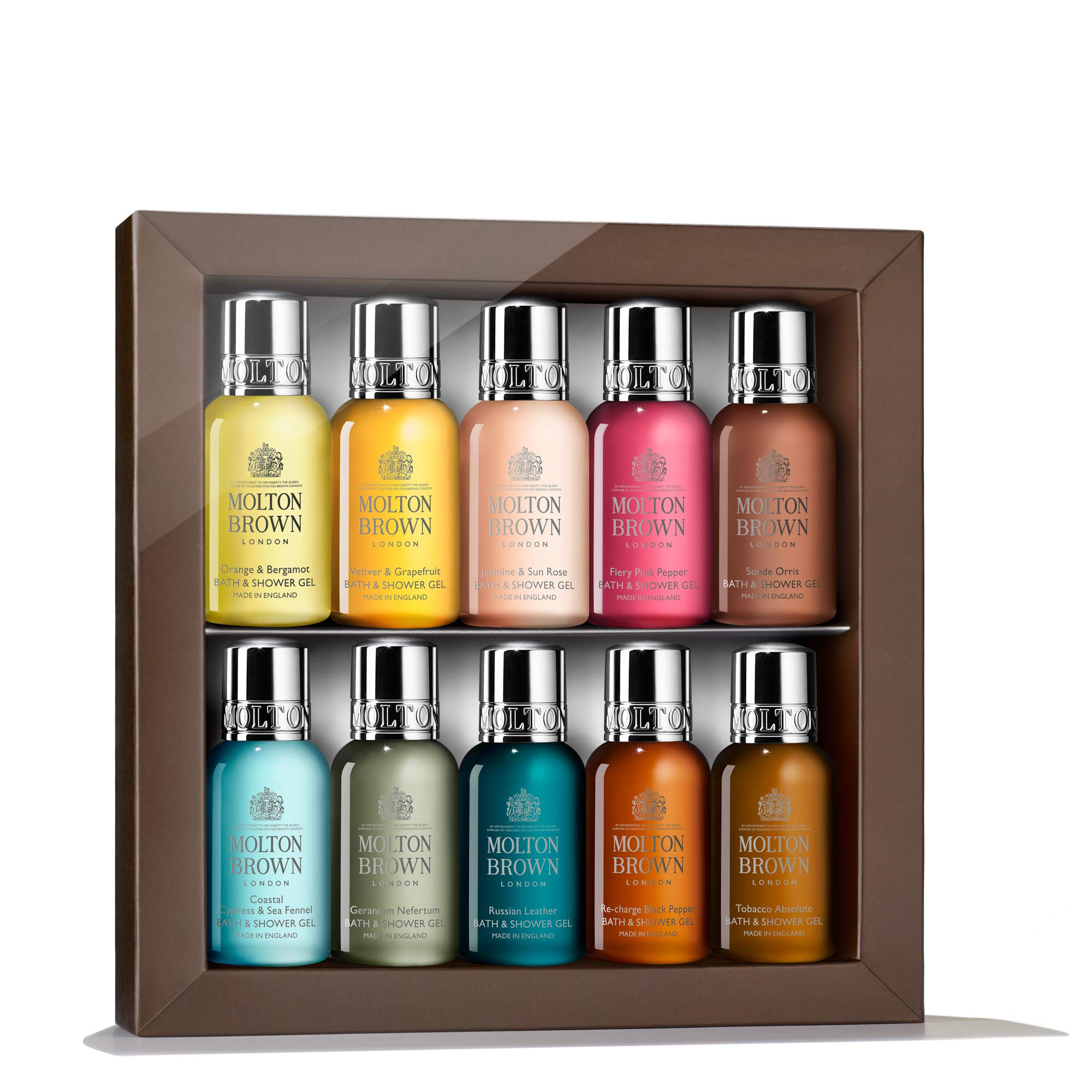 Molton Brown Discovery Bath & Shower Gel Gift Set (10 x 30ml)