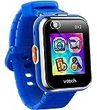 Vtech 80-193804 Kidizoom Smart Watch DX2 blau Smartwatch für Kinder Kindersmartwatch, Mehrfarbig