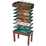 Ultrasport Spieltisch, Multifunktionsspieltisch mit 12 Spielmöglichkeiten von T