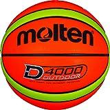 Molten B7D4000 Basketball orange-gelb