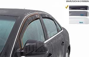 Vordere Windabweiser 1 Set Für Die Fahrer Und Beifahrerseite Cls0033195d Passend Für Mercedes E Klasse Typ W211 S211 Lim Sw 4 Door 2002 2009 Auto