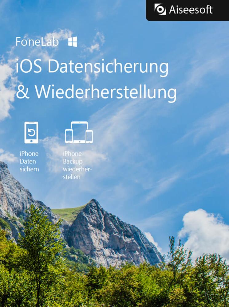 Aiseesoft FoneLab - iOS Datensicherung und Wiederherstellung für PC - 2018 [Download]