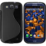 mumbi S-TPU Silikon Schutzhülle für Samsung Galaxy S3 / S3 Neo Hülle schwarz