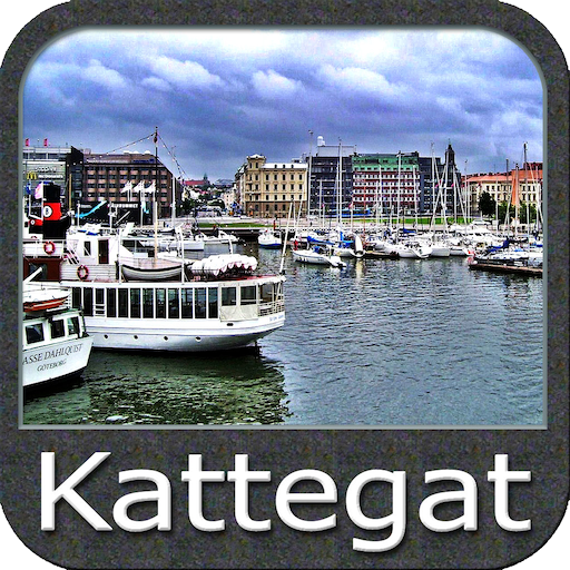 Kattegat GPS Map Navigator (Lowrance-fishing-maps)