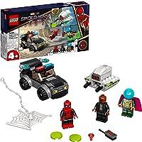 LEGO Marvel Spider-Man E L'Attacco Con Il Drone Di Mysterio , Set da Costruzione con Auto, Giocattoli per Bambini 4…