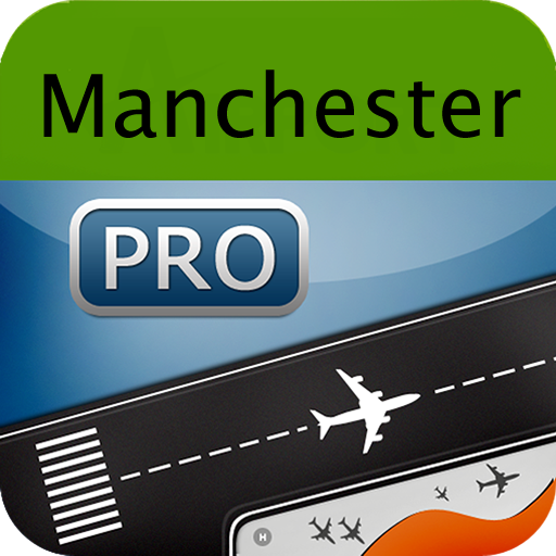 Manchester Airport + Flight Tracker