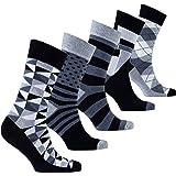 Bunt Cool Fun Designer Argyle, Streifen, Mischen, Gemustert und Tupfen-Socken mit super weich gekämmte Baumwolle!