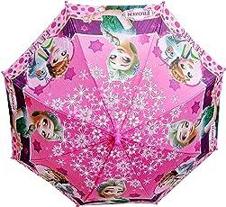 Dhinchak Art Box Special Material Cute Small Dolls Print Umbrella (15Years, 19Inch)