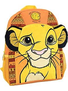 11x22x22 Centimeters W x H x L Artesania Cerda Mochila Casual Moda Lion King Marron Sac Dos Mixte Adulte