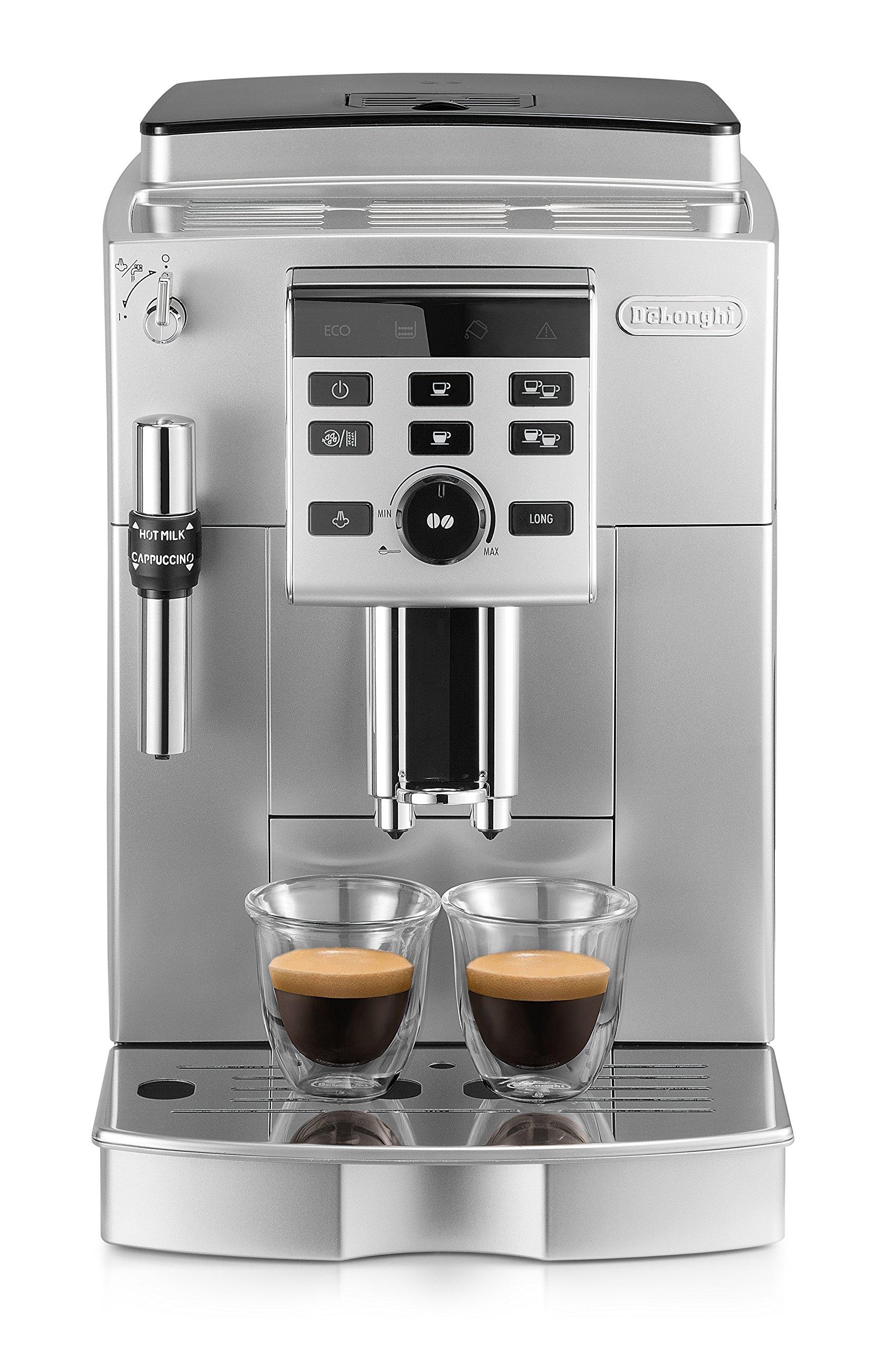 De'Longhi ECAM 25.120.SB Kaffeevollautomat (Milchaufschäumdüse) silber