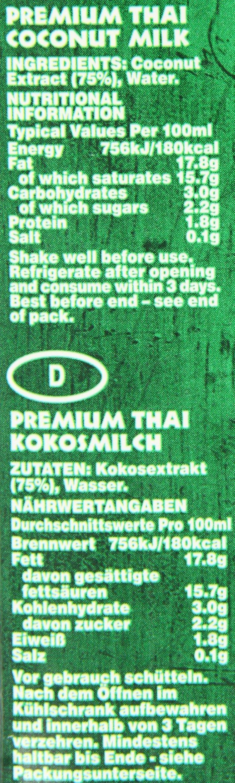 Grace Premium Coconut Milk 1 Litre (Pack of 12) 2