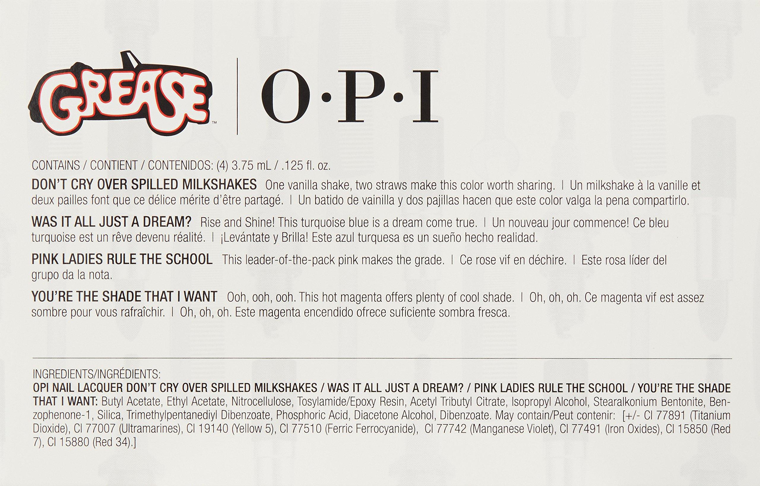 OPI Set De Esmalde De Uñas – 4 Unidades x 3.75 ml.