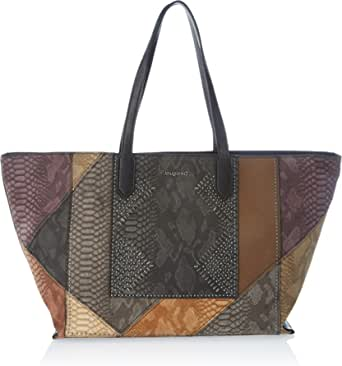 Desigual Accessories Pu Shopping Bag, Borsa shoppering Donna, U