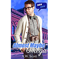 Almost Maybe Omega: An Age Gap M/M Mpreg (Maybe Mine Book 1) (English Edition)