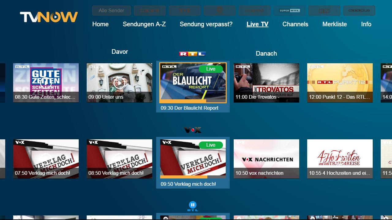Rtl Aktuell Tv Now