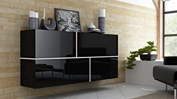 BMF GOYA Modern HIGH GLOSS Dresser