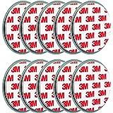 ECENCE 10x Magnetbefestigung/Magnethalter für Rauchmelder Ø 70mm 45020108010