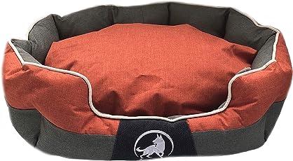Aquagart Premium Hundebett Verschiedene Farben und Größen, Robustes Hundekissen Waschbar, Anti-Rutsch Hundebett für Kleine und große Hunde